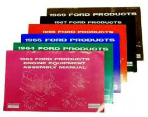 Ford Products Engine Equipment Assembly Manual - 33 Pages