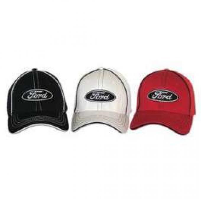 Hat, Ford Oval Logo, Flex Fit, SM/MD