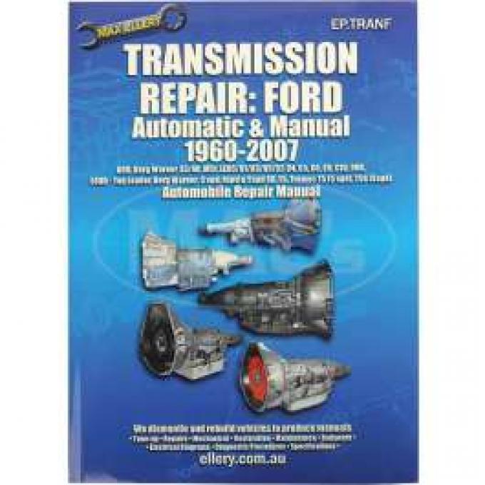 Transmission Repair Book, Ford & Mercury, 1960-2001