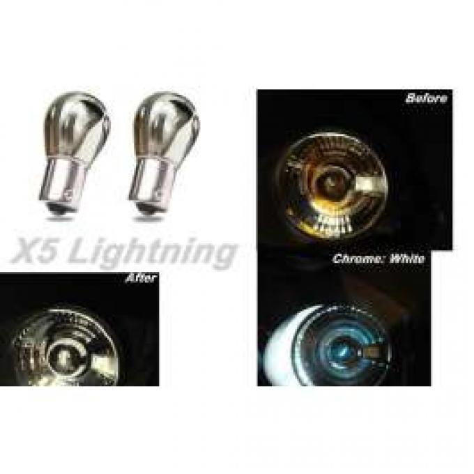 Light Bulbs, 1157, Chrome X5 Lightning White Silver Stealth