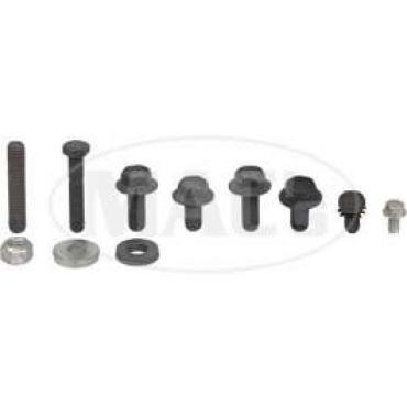 Air Conditioning Underhood Bolt Kit, 390, 428, Ford & Mercury, 1968