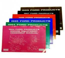 Ford Products Engine Equipment Assembly Manual - 153 Pages