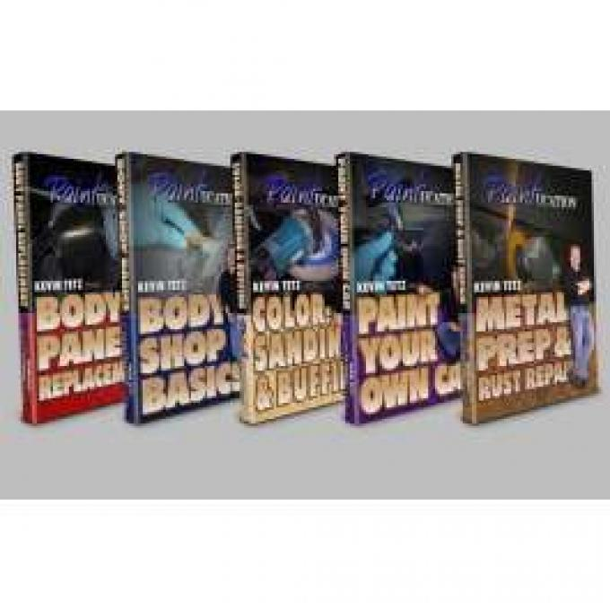 DVD Series, Paintucation