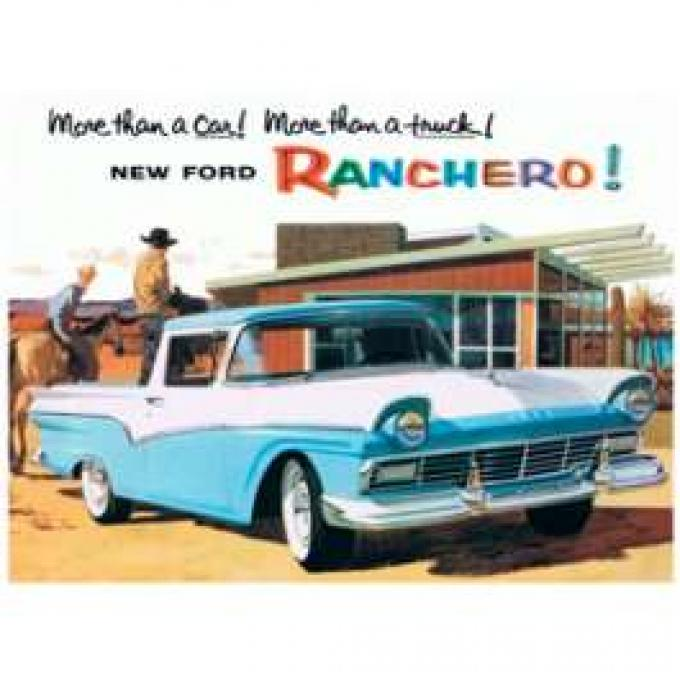 Ford Ranchero Color Sales Brochure