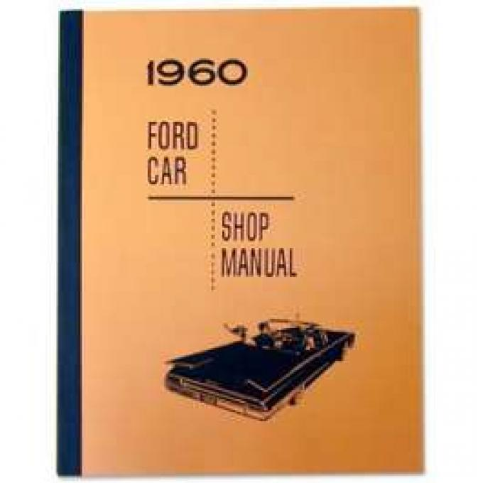 Ford Car Shop Manual - 496 Pages