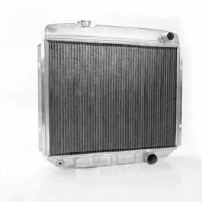 67 FAIRLANE ALUMINUM GRIFFIN RADIATOR MANUAL TRANS - V-8