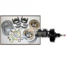 Front Disc Brake Conversion Kit, 5 Lug, Falcon, Ranchero, 1960-1965