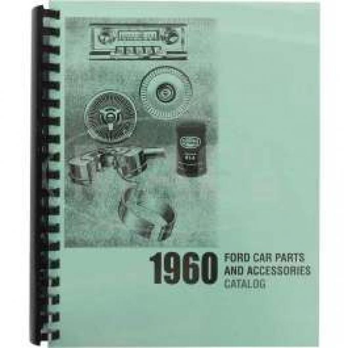 Car Parts And Accessories Manual, Ford, 1960