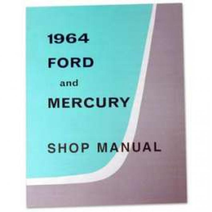 Full-Size Ford and Mercury Shop Manual - 648 Pages