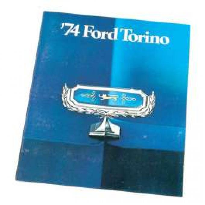 Sales Brochure, Torino, 1974