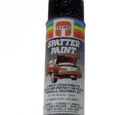 Spatter Paint, Black