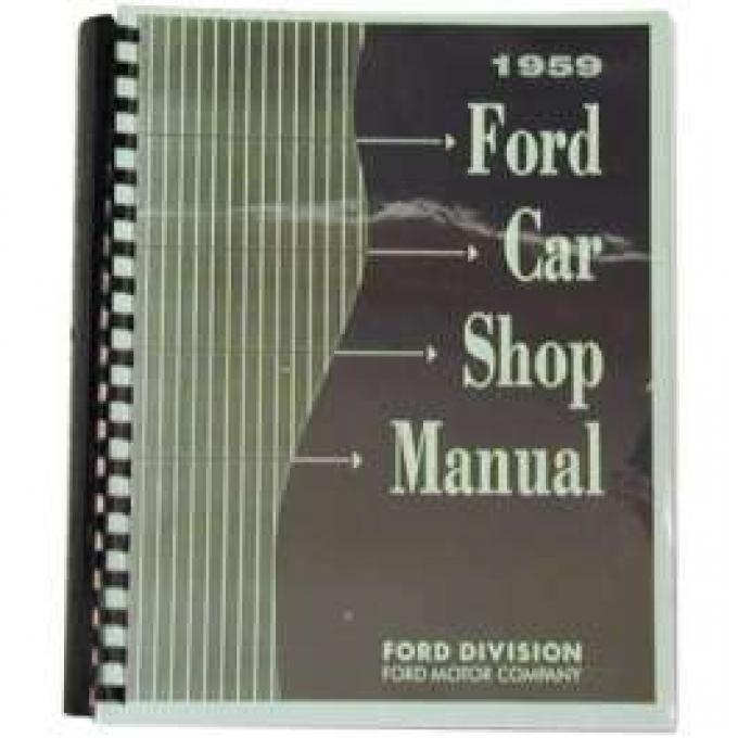 1959 Ford Shop Manual