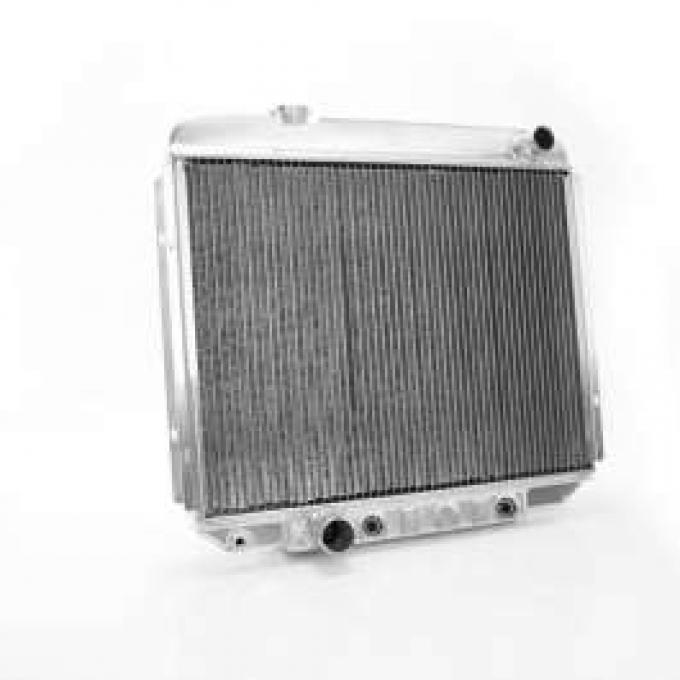 1965-67 FULL SIZE FORD GRIFFIN ALUMINUM RADIATOR, V8 WITH AUTOMATIC TRANSMISSION