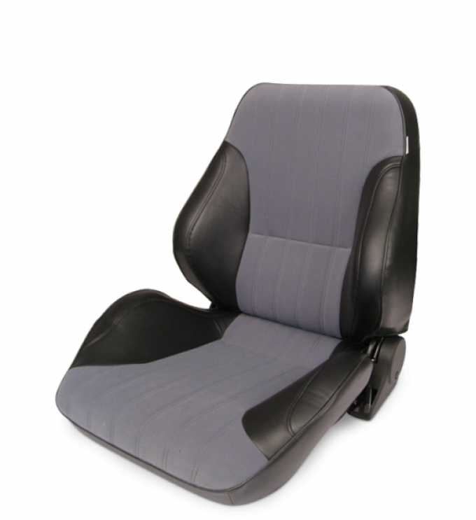 Procar Lowback Rally Seat, Left, Velour