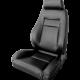 Procar Elite Seat, Left, Black Leather
