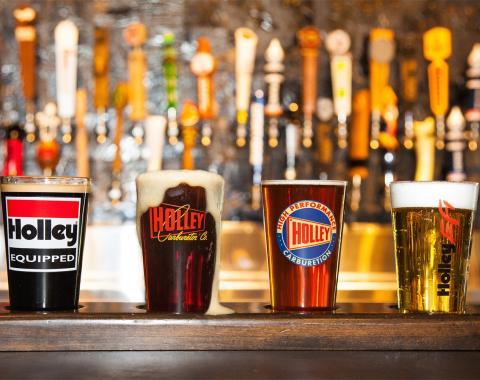 Holley Logo Pub Glass Assortment 36-435