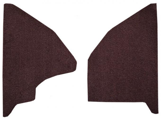 ACC  Ford F-100 Kick Panel Inserts Cutpile Carpet, 1975-1979