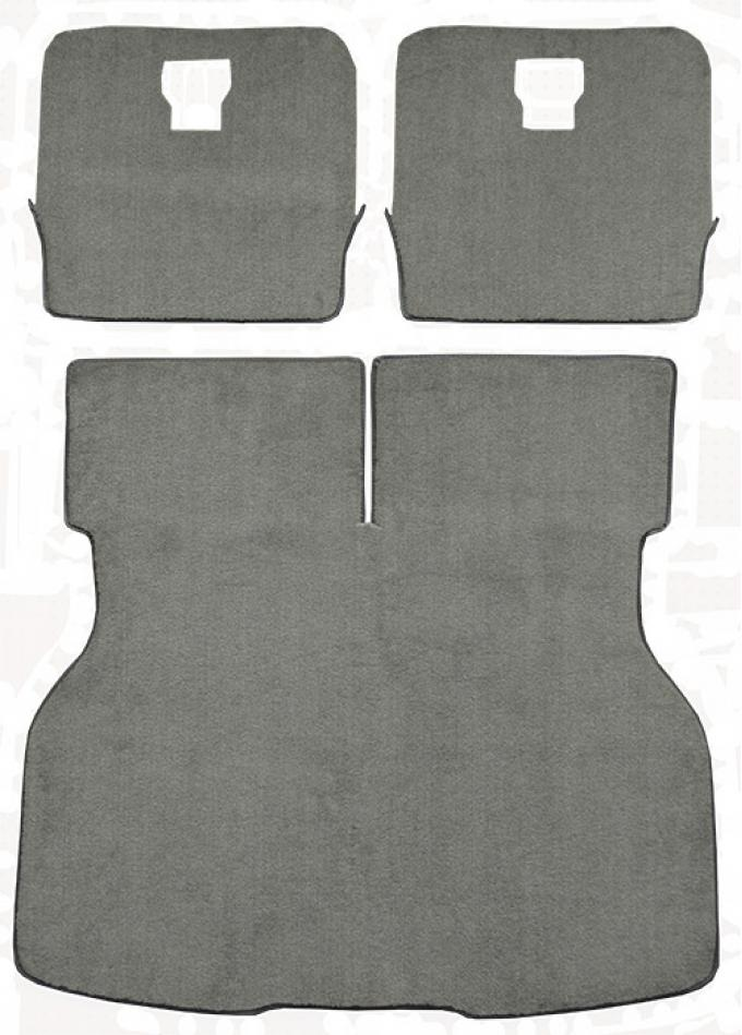 ACC  Ford Mustang Hatchback Cargo Area Cutpile Carpet, 1983-1986