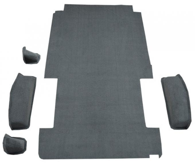 ACC  Ford E-100 Econoline Long Rear Fits 128 Wheel Base Cargo Area Cutpile Carpet, 1975-1983