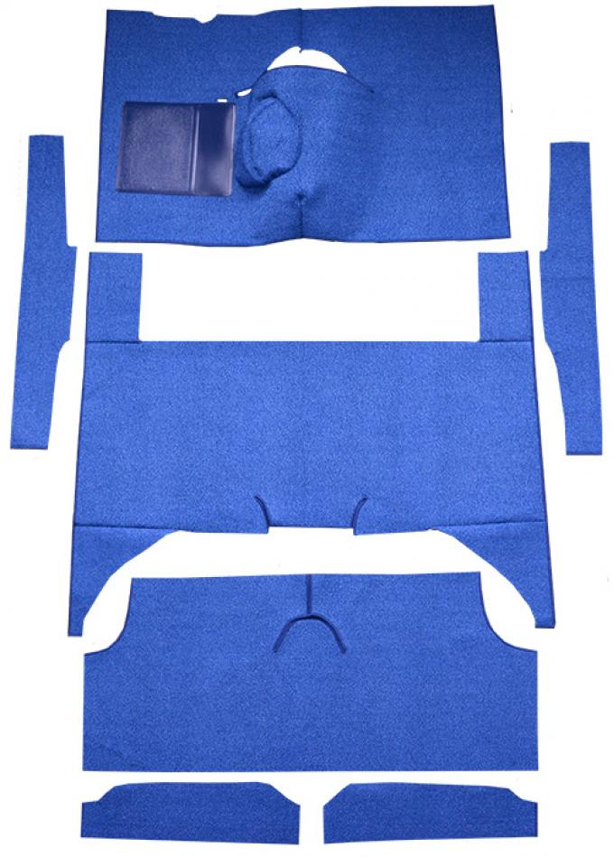 ACC  Ford Falcon 4DR Wagon 4spd Bench Seat 8 Cylinder Loop Carpet, 1963-1965