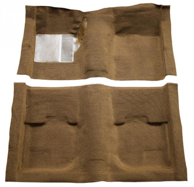 ACC  Ford Mustang Coupe Pass Area Nylon Carpet, 1969-1970
