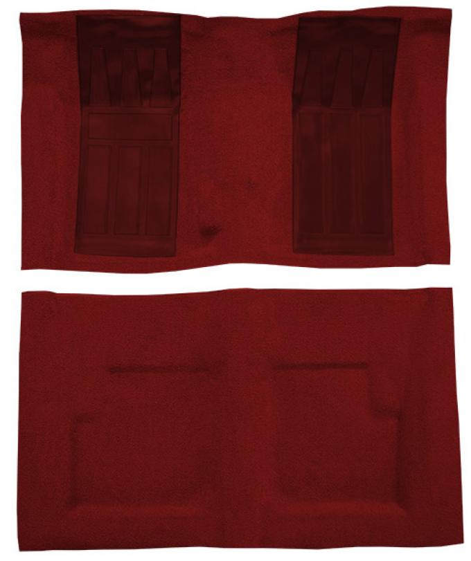 ACC  Ford Torino GT 2DR Convertible 4spd with 2 Maroon Inserts Loop Carpet, 1970-1971