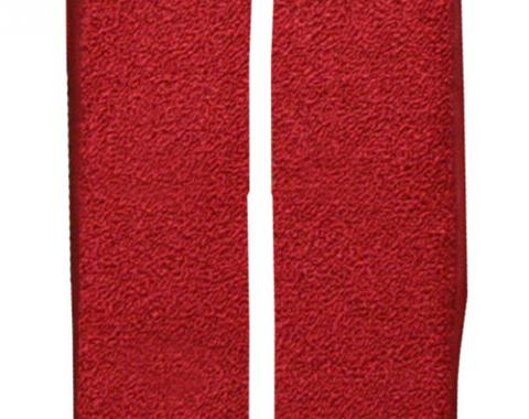 ACC  Ford Thunderbird Door Panel Inserts 2pc Loop Carpet, 1964-1966