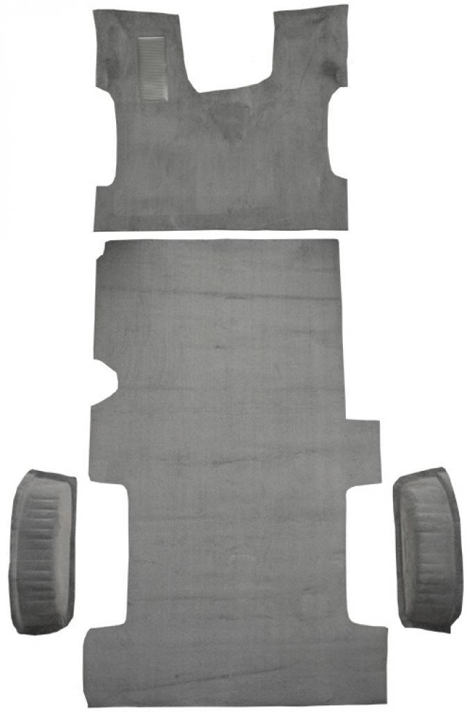 ACC  Ford E-150 Econoline Reg Fits Gas or Diesel Complete Cutpile Carpet, 1992-1996