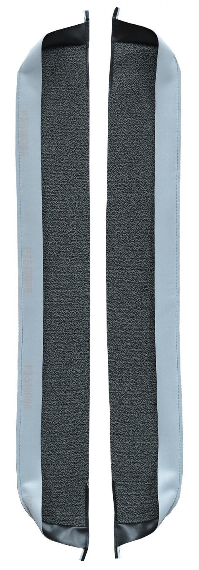ACC  Ford Thunderbird Door Panel Inserts 2pc Loop Carpet, 1961-1963
