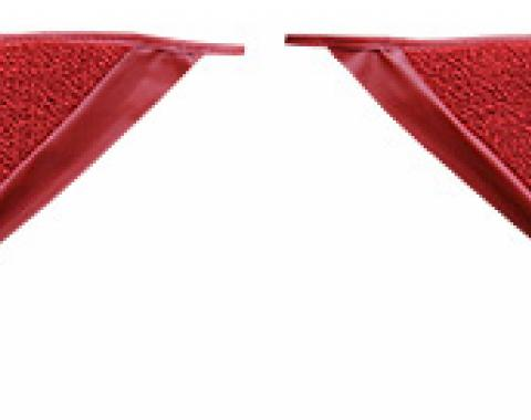 ACC  Ford Mustang Coupe Inserts Kick Panel Loop Carpet, 1965-1968