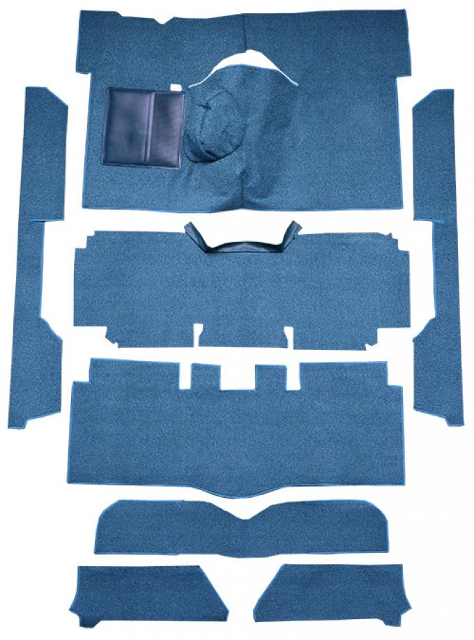 ACC  Ford Falcon 2DR Convertible 4spd Bucket Seat 8 Cylinder Loop Carpet, 1963-1965