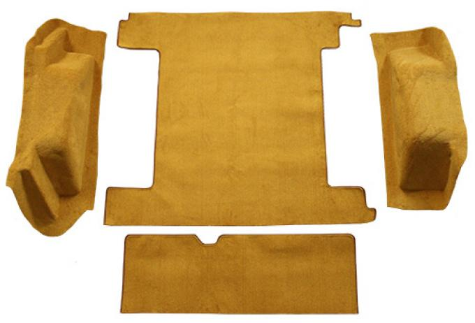 ACC  Ford Bronco 2 Gas Tanks with Tailgate Lock Cargo Area Cutpile Carpet, 1974-1976