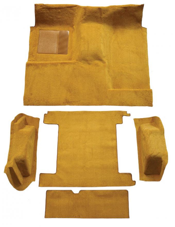 ACC  Ford Bronco 2 Gas Tanks Complete with Tailgate Lock Cutpile Carpet, 1974-1976