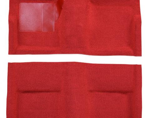 ACC  Ford Mustang Fastback without Folddowns Pass Area Nylon Carpet, 1965-1968