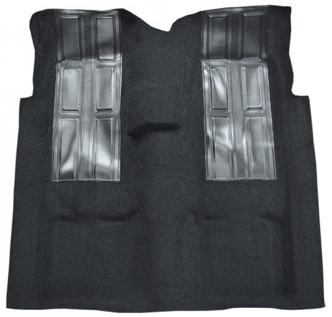 ACC  Ford Ranchero GT 4spd with 2 Black Inserts Loop Carpet, 1972-1973