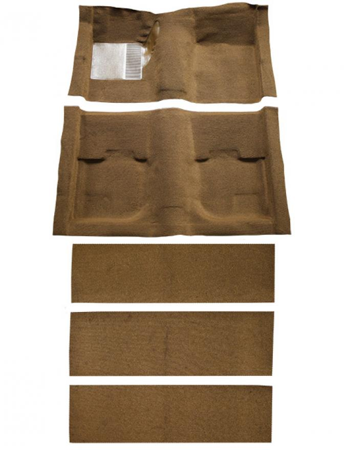 ACC  Ford Mustang Fastback with Folddowns Nylon Carpet, 1969-1970