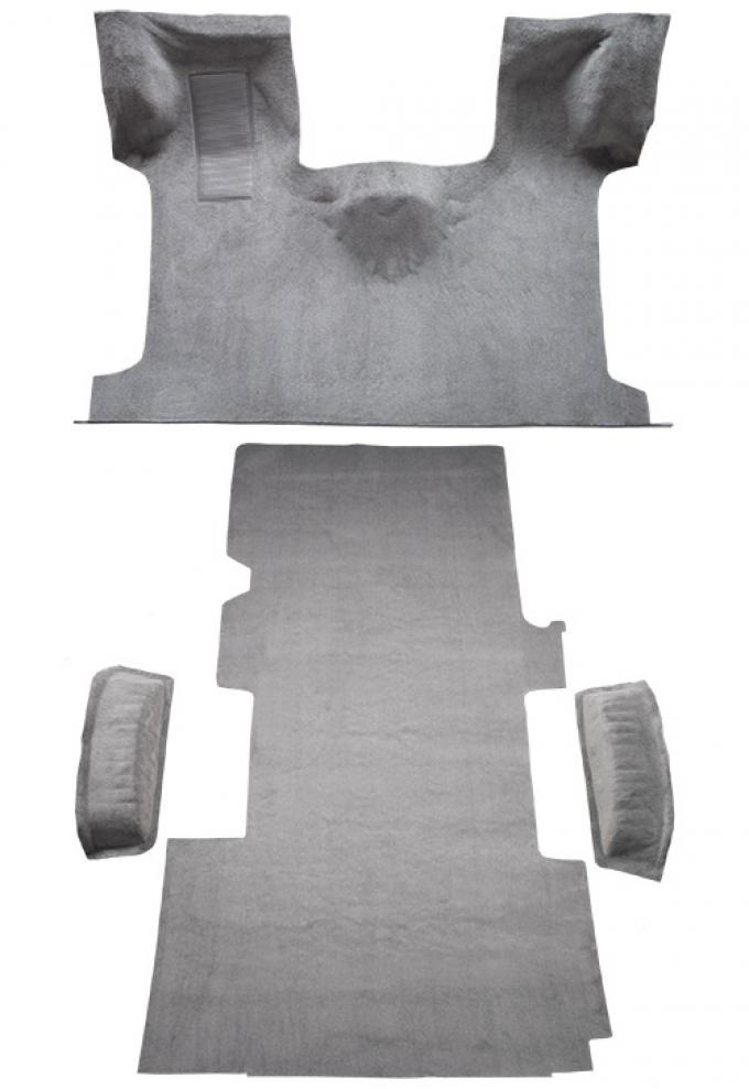ACC  Ford E-350 Econoline Ext Fits Gas or Diesel Complete Cutpile Carpet, 1992-1996