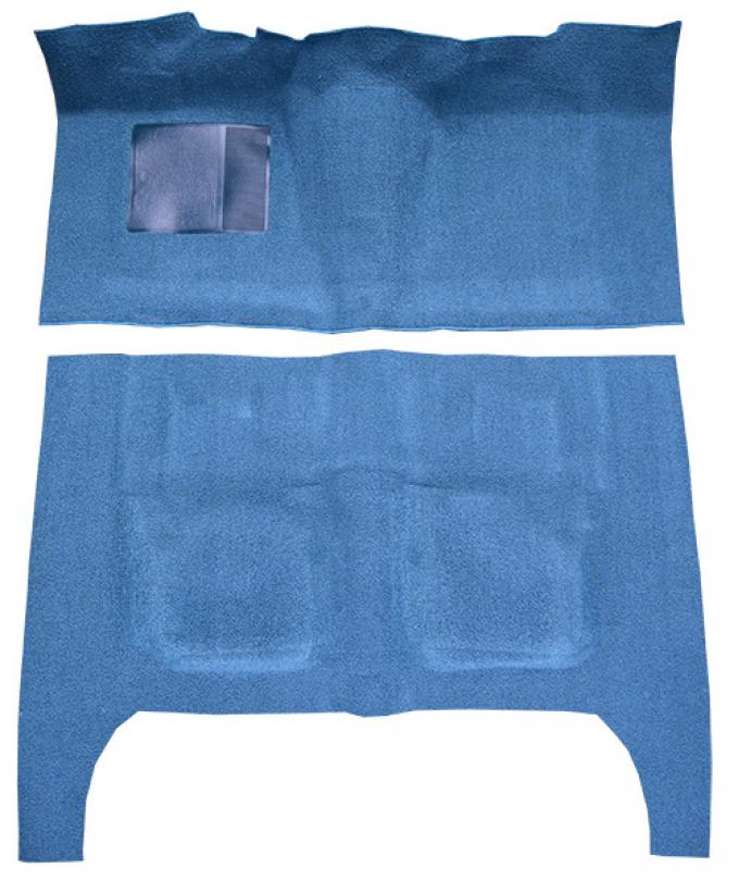 ACC  Ford Galaxie 4DR Sedan Flat Front Loop Carpet, 1960-1962
