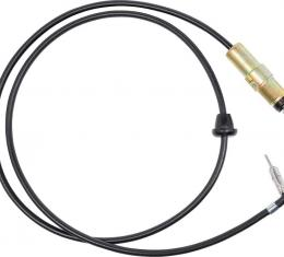 "OER 1967-72 AM/FM Antenna Body with 49-1/2"" Cable 469304"