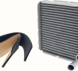 """OER 1973-91 Aluminum Heater Core With A/C - 6-5/8"""" X 7-1/4"""" X 2"""" 17155"""