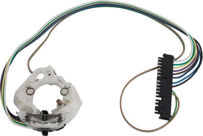 "OER 1969-76 GM, Turn Signal Switch, 10-Pin, 3-7/8"" Wide Connector SW327"