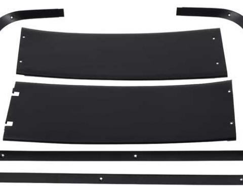 OER 1967-68 Mustang Fastback Rear Interior Roof Molding Set 31282A