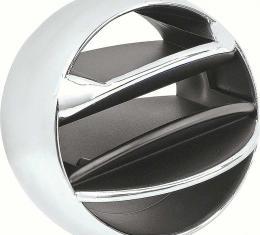 OER 1965-77 GM Chrome Dash AC Vent Ball - Each - Various Models 3856472