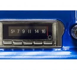 Custom Autosound 1963 Ford Falcon Convertible USA-740 Radio