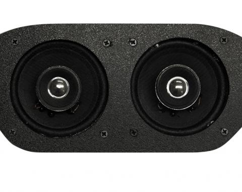 Custom Autosound 1967-1968 Ford Mustang Dual Speakers