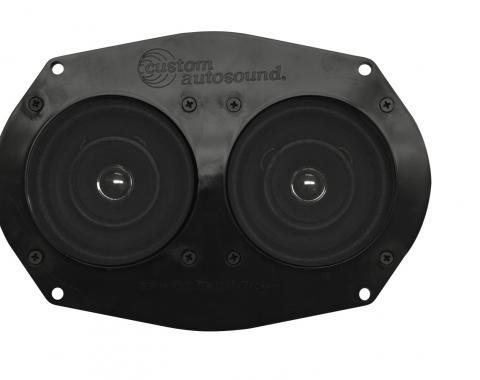 Custom Autosound 1955-1957 Ford Thunderbird Dual Speakers