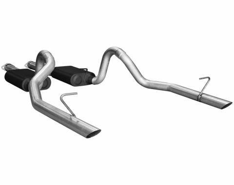 Flowmaster 1986-1993 Ford Mustang American Thunder Cat Back Exhaust System 17113