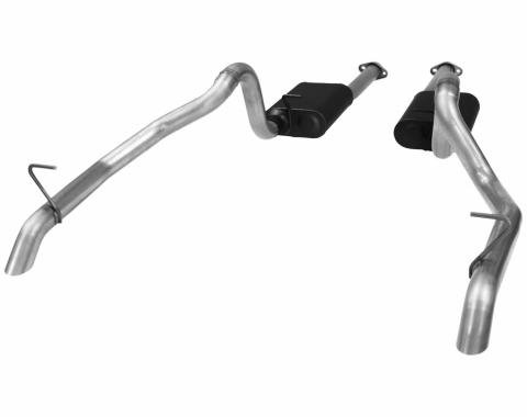 Flowmaster 1987-1993 Ford Mustang American Thunder Cat Back Exhaust System 817116